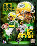 Aaron Rodgers 2014 NFL MVP Composite Photo