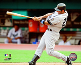 Jorge Posada 2009 Batting Action Photo
