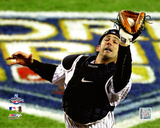 Jorge Posada Game Six of the 2009 MLB World Series Action Photo