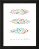 Birds of a Feather Poster Prints by  Satchel & Sage