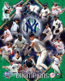 Yankees 1999 World Series Championship Composite Photo