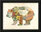 Woodland Creature: Bear Poster Poster by  Satchel & Sage