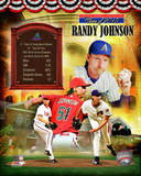 Randy Johnson MLB Hall of Fame Legends Composite Photo