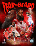 James Harden Fear the Beard Portrait Plus Photo
