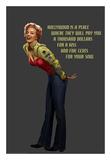 Marilyn in Pink Affiche par Chris Consani