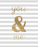 You and Me are Golden Posters by Miyo Amori