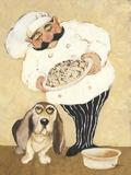 Dogs & Pasta Prints by Carole Katchen