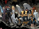 All-New X-Men No. 1: Beast, Grey, Jean, Cyclops, Iceman, Angel, Magneto, Magik, Frost, Emma Wall Decal