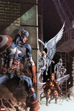 Avengers No. 29: Captain America, Summers, Rachel, Iceman, Angel Wall Decal