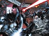 All-New X-Men No. 20: Cyclops, X-23, Pryde, Kitty, Grey, Jean, Angel, Beast, Iceman Wall Decal