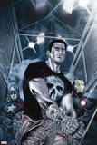Punisher: War Zone No. 5: Punisher, Captain America, Iron Man Plastic Sign