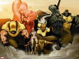 Astonishing X-Men: Xenogenesis No. 2: Wolverine, Armor, Frost, Emma, Storm, Cyclops, Beast Wall Decal