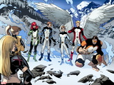 All-New X-Men No. 18: Pryde, Kitty, Beast, Grey, Jean, Cyclops, Iceman, Magik, Angel Wall Decal