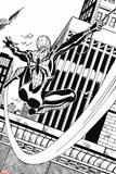 Ultimate Spider-Man Style Guide: Spider-Girl Plastic Sign