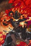 Inhumans No. 2: Inferno Wall Sign