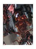 Marvel Extreme Style Guide: Carnage Metal Print