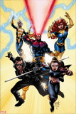X-Men Forever 2 No. 1: Pryde, Kitty, Gambit, Cyclops, Grey, Jean, Storm Plastic Sign