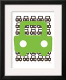 Green Auto Posters by  Avalisa