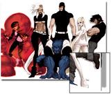 Astonishing X-Men: Xenogenesis No. 1: Armor, Storm, Beast, Cyclops, Frost, Emma, Wolverine Posters