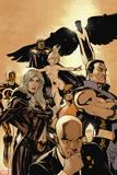 Uncanny X-Men No. 513: Professor X, Frost, Emma, Namor, Wolverine, Dagger, Cloak, Mimic Wall Sign