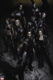 X-Force No. 25: Warpath, Wolverine, X-23, Domino, Vanisher, Elixir, Wolfsbane, Archangel Wall Decal