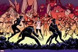 Marvel Knights: X-Men No. 4: Wolverine, Sabretooth, Lady Deathstrike, Rogue, Silver Samurai Wall Decal