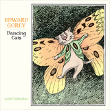 Edward Gorey Dancing Cats - 2016 Mini Calendar Calendars