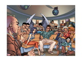 Ultimate X-Men No. 93: Cyclops, Psylocke, Storm, Rogue Metal Print