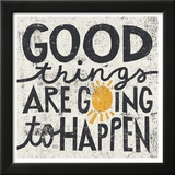 Good Things are Going to Happen Framed Giclee Print by Michael Mullan
