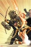 New Mutants No. 47: Moonstar, Magma, Warlock, Sunspot Wall Decal