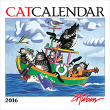 Kliban CatCalendar - 2016 Mini Calendar Calendars