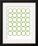 Green Circles Poster by  Avalisa
