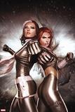 New Mutants No. 14: Rogue, Summers, Hope Plastic Sign