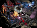 X-Men: Battle of the Atom No. 1: Beast, Sentinel, Iceman, Deadpool, Grey, Jean Wall Decal