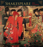Shakespeare - 2016 Calendar Calendriers