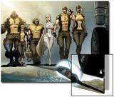 Astonishing X-Men: Xenogenesis No. 1: Beast, Armor, Wolverine, Frost, Emma, Cyclops, Storm Prints