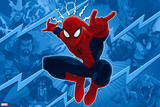 Ultimate SpiderMan - Sinister Art - Situational Art Plastic Sign
