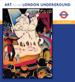 Art For London Underground - 2016 Calendar Calendars