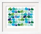 Cool Rabbit Pattern Art by  Avalisa