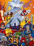 X-Men Forever Alpha No. 1: Cyclops, Storm, Grey, Jean, Summers, Rachel, Havok, Polaris, Cable Wall Decal