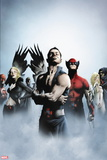 Dark X-Men: The Beginning No. 1: Namor, Wolverine, Frost, Emma Wall Decal