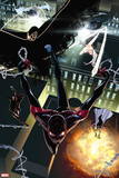 Ultimate Comics Spider-Man No. 27: Spider-Man, Cloak, Dagger, Spider-Woman, Baumgartner, Lana Wall Decal