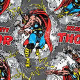 Comics - Thor Design Elements - Pattern Wall Decal