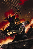 Winter Soldier No. 11: Winter Soldier, Hawkeye Plastic Sign