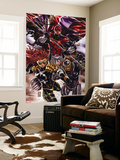Revolutionary War: Omega No. 1: Captain Britain, Dark Angel, Deaths Head II Wall Mural
