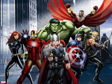 Avengers Assemble - Situational Art Wall Decal