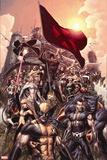 Nation X No. 1: Wolverine, Namor, Beast, Magik, Nightcrawler, Cyclops Wall Decal