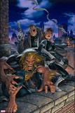 X-Men Forever No. 19: Sabretooth, Dugan, Daisy, Nick Fury Wall Decal