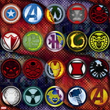 Avengers Assemble - Villain Patterns 2014 Wall Decal