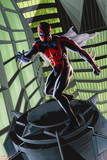 Ultimate Spider-Man Style Guide: Spider-Man 2099 Plastic Sign